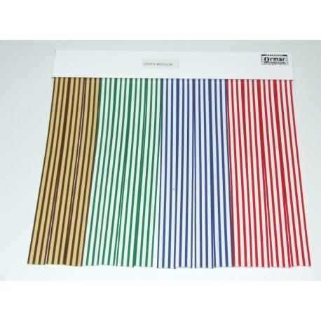 Cortina de cinta modelo Cinta Bicolor